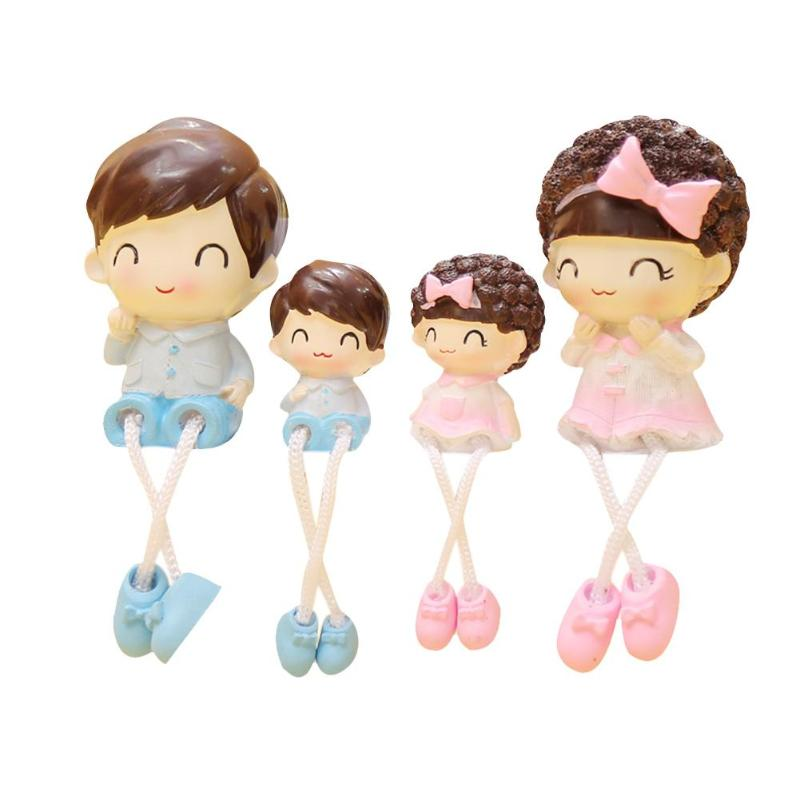 4pcs/set synthetic Resin Crafts Foot