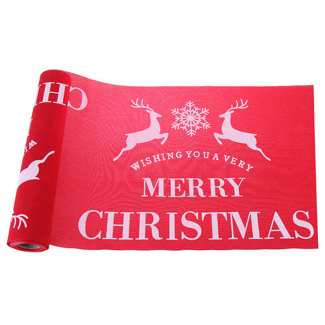 Christmas Table Runners Tablecloth