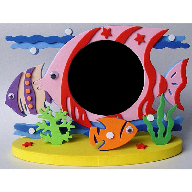 EVA Foam Cartoon Photo Frame Kids Children's Toys