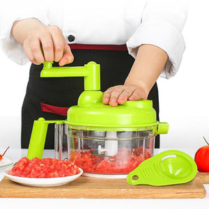 Vegetable Chopper Garlic Cutter Manual