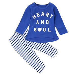 Children's Clothing Set Children's Casual Long