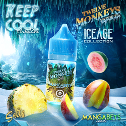 Twelve Monkeys - Mangabeys Iced Salts