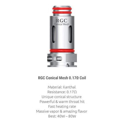 SMOK - RGC 0.17ohm RPM80 Replacement Coil Pack