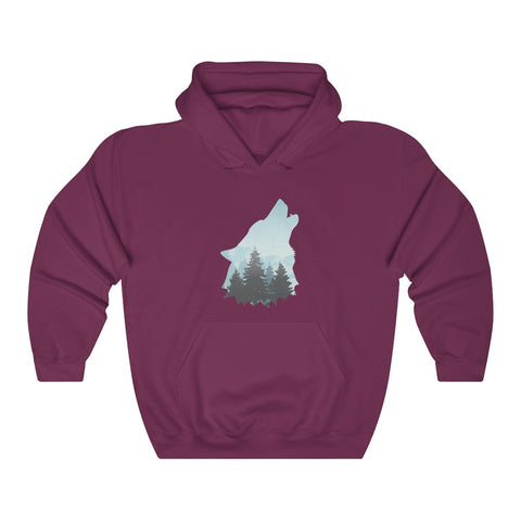 Image of Howling Wolf Hoodie