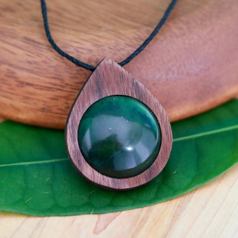 Image of Green Jade Necklace
