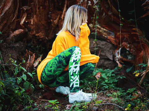 FOREST-BATHING YOGA PANTS
