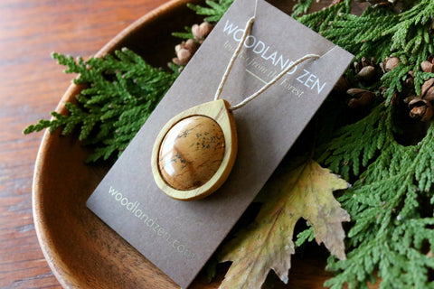 Image of Picture Jasper Necklaces