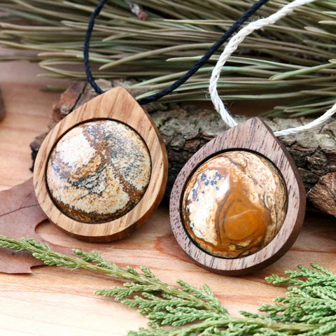 Picture Jasper Necklaces