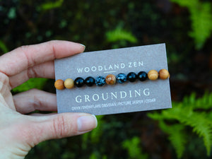 Grounding Gem Bracelet