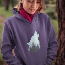Load image into Gallery viewer, UNISEX Howling Wolf Hoodie