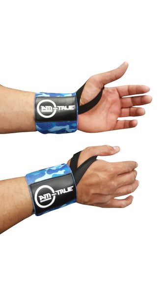 Professional Lifting Wrist Wraps with Thumb Loop.
