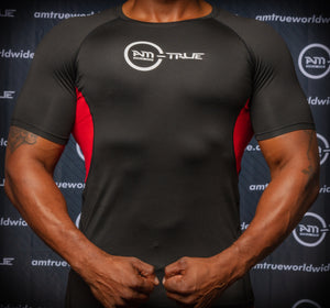 Men's Short Sleeve Compression T Shirt - Workout Baselayer