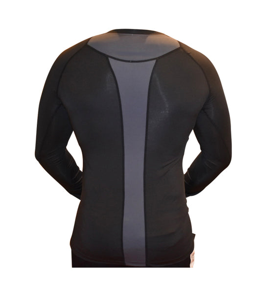 Men's Dry Fit Long Sleeve Compression Shirts Workout Running Shirts