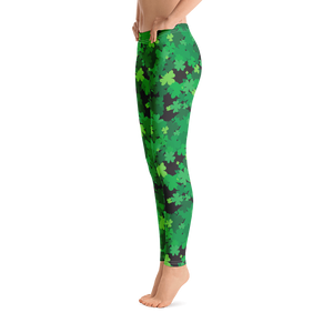Here a Clover, There a Clover Leggings