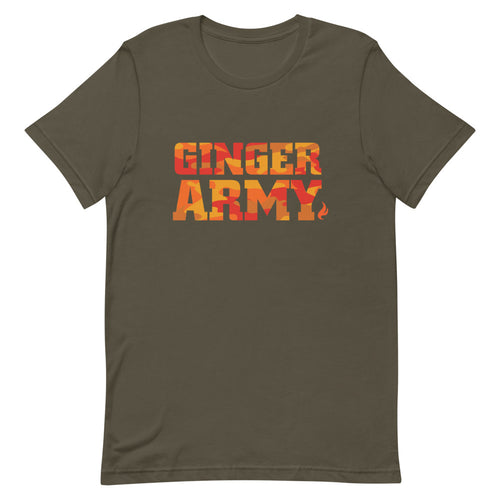 Ginger Army Camo | Unisex Tee