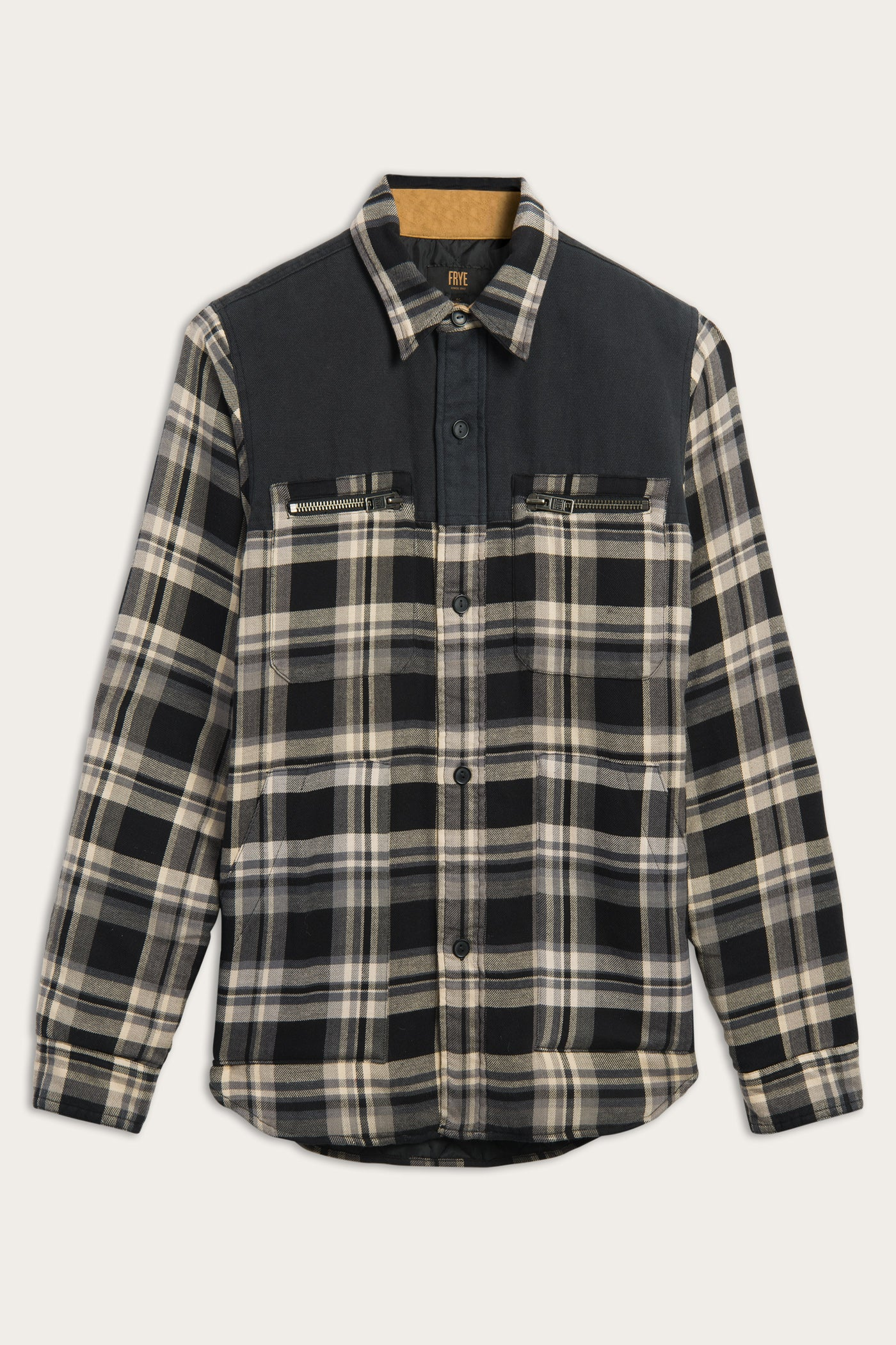 FRYE Quilted Dean Overshirt