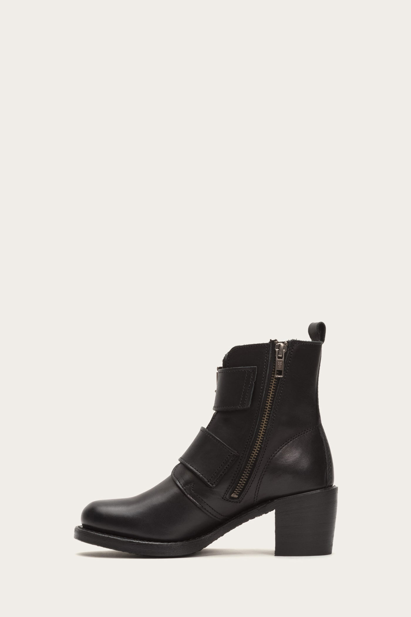 Details about  /Ladies Easy B Leather 2V Fit Zip Up Ankle Boots FACTORY SECONDS Rouen