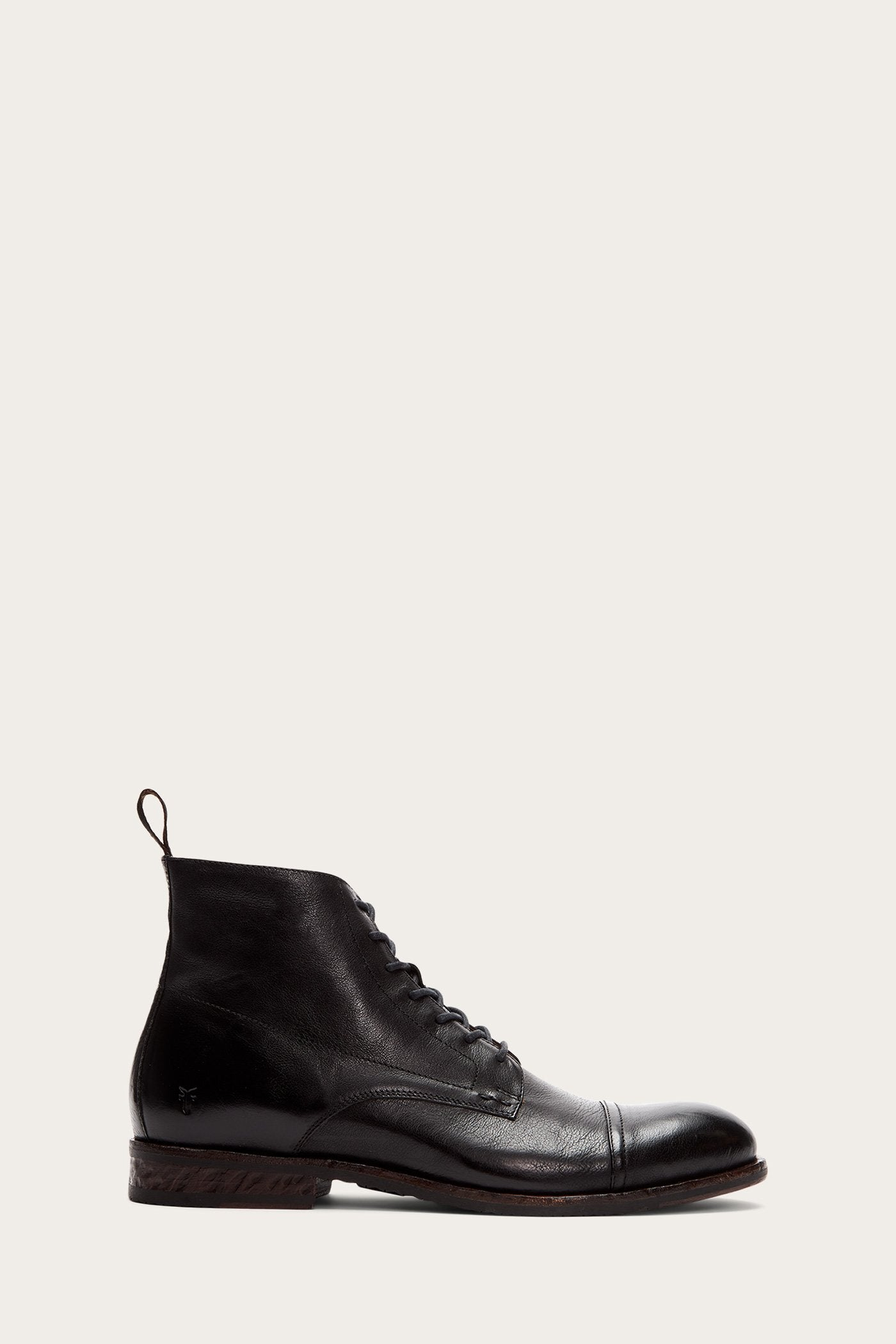 1920s Style Mens Shoes | Peaky Blinders Boots Grant Lace Up $199.00 AT vintagedancer.com