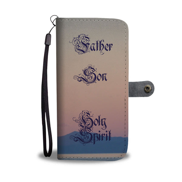 Father Son Holy Spirit - Phone Wallet Case (FREE SHIPPING)