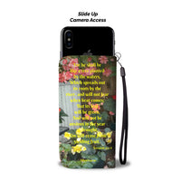 Blessed Is The Man Who Trusts - Phone Wallet Case (FREE SHIPPING)
