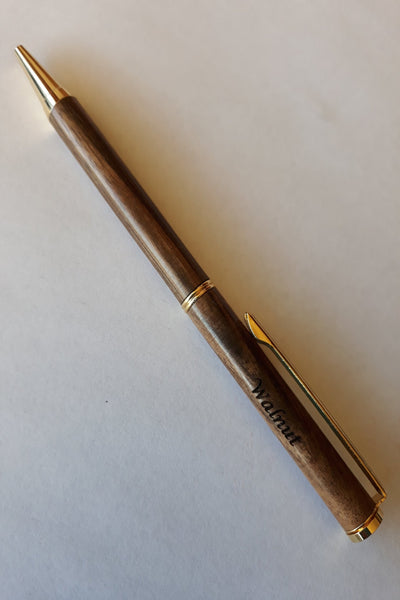 Handcrafted Pen - Walnut Wood