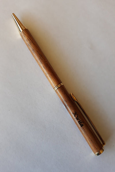 Handcrafted Pen - Kwila Wood
