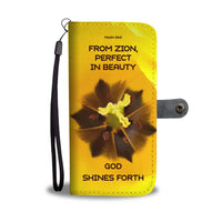 God Shines Forth - Phone Wallet Case (FREE SHIPPING)