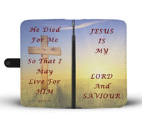 Jesus is my Lord - Phone Wallet Case (Free Shipping)