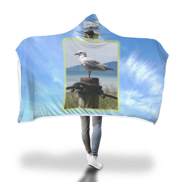 Seagull on Watch - Hooded Blanket (FREE UPS Express Shipping)