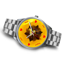 Silver Watch - Tulip - Love Hope Live (Free Shipping)