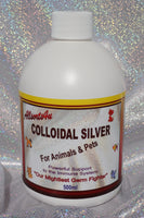 Allsorts4u Colloidal Silver ANIMALS & PETS 500ml (NZ Sales Only)