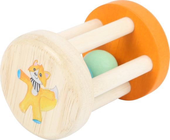 Lex the Fox Grasping Rattle