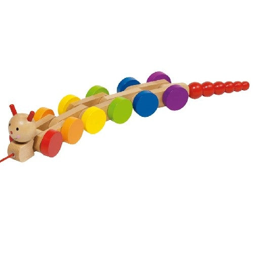 Caterpillar Pull Along Toddler Toy