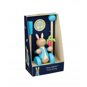Peter Rabbit Wooden Push Along Toy (Boxed)