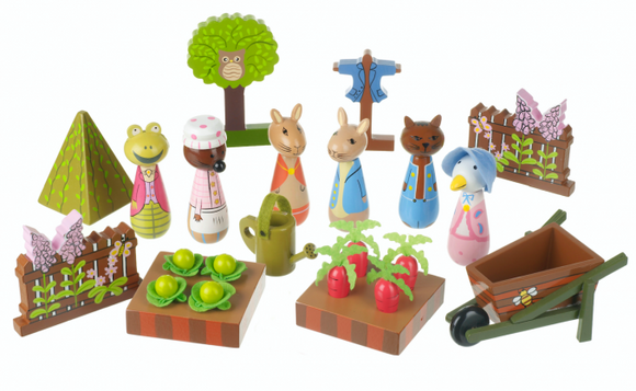 Peter Rabbit Garden Play Set