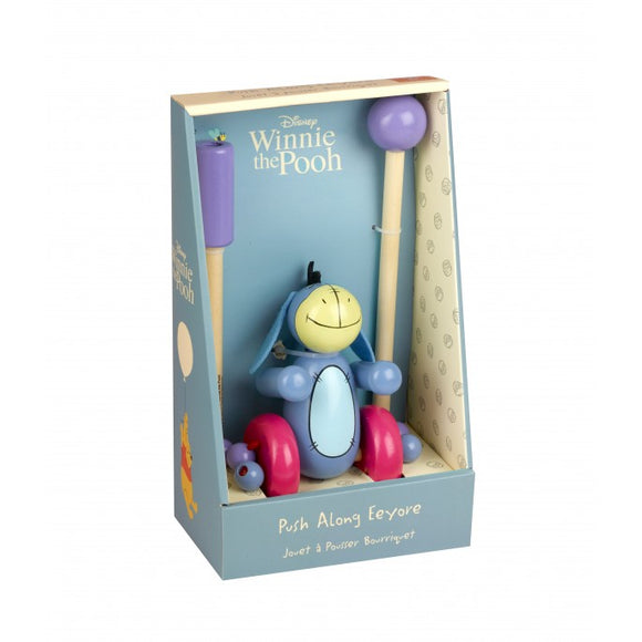 Eeyore Push Along Toy (Boxed)