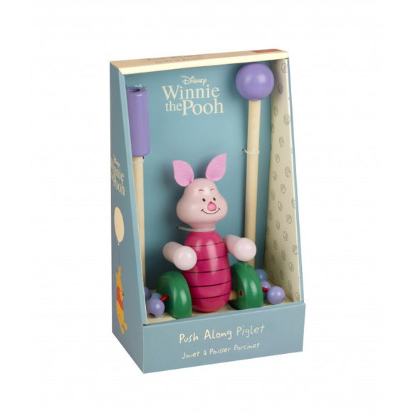 Piglet Push Along Toy (Boxed)
