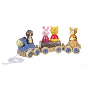 Winnie the Pooh Puzzle Train Pull Along