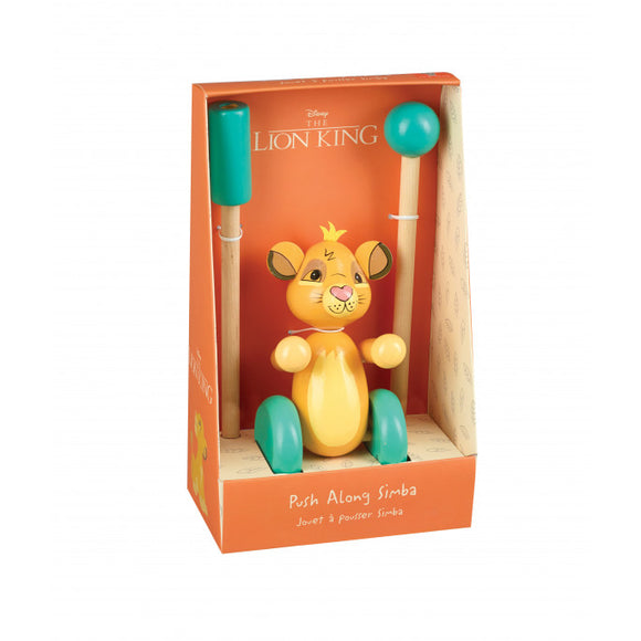 Simba Push Along Toy (Boxed)