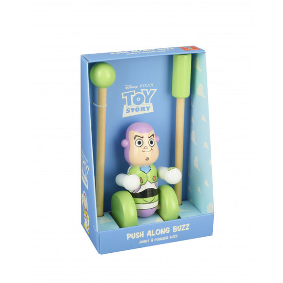 Buzz Lightyear Push Along Toy (Boxed)