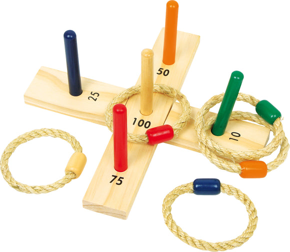 Ring Toss Wooden Hoopla Throwing Game