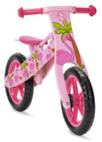 Wooden Balance Bike with Dinosaur design (2 years +)