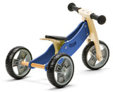 Mini Balance Bike & Trike 2 in 1 in Blue (18 months +)