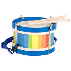 Drum for Children in Rainbow Colours