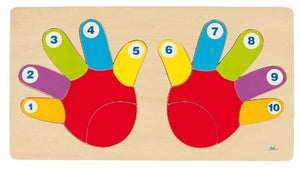 Counting Hands & Fingers Board
