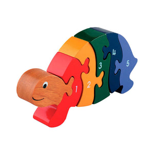 Tortoise 1-5 Numbers Chunky Jigsaw Puzzle