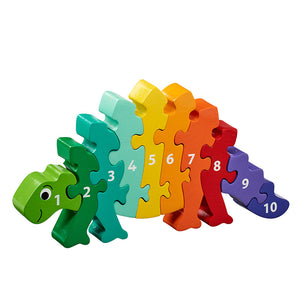 Dinosaur 1-10 Numbers Chunky Jigsaw Puzzle
