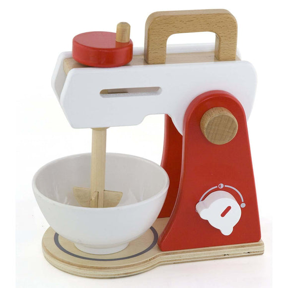Wooden Kitchen Mixer with Bowl - lifts and rotates