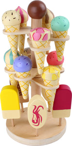 Moveable Assorted Ice Cream Stand withe 16 parts