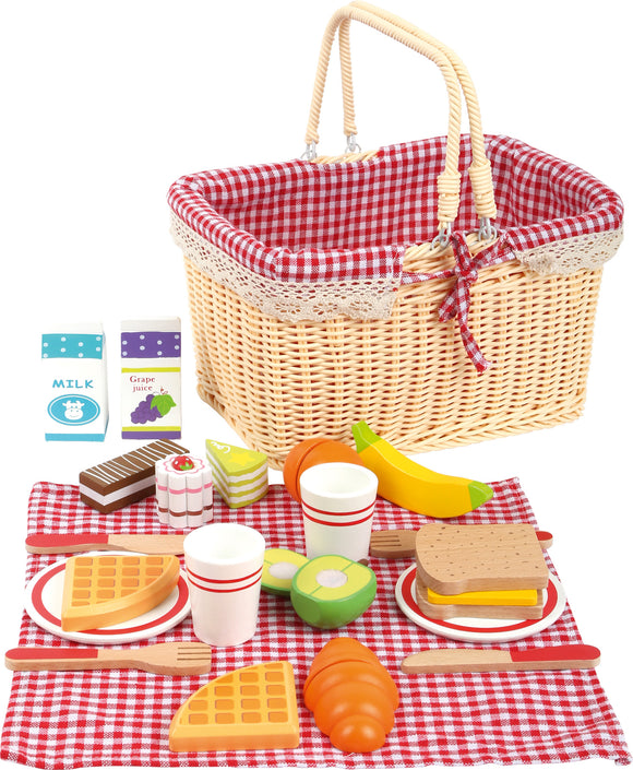 Breakfast Picnic Basket 27 Piece Set